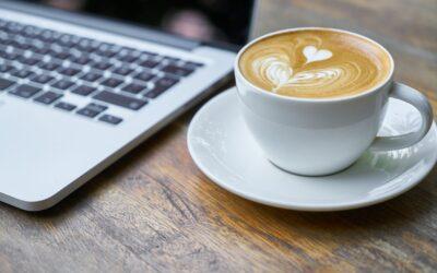 Når du drikker kaffe alene