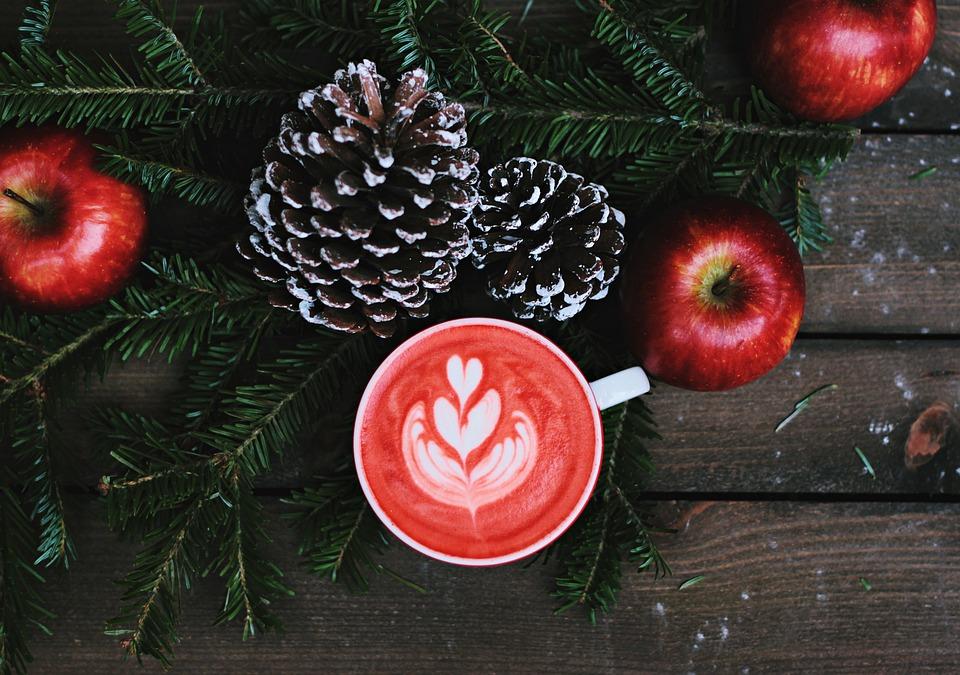 jul og kaffe