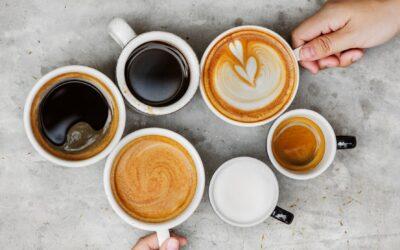 Sådan kombinerer du mad og kaffe