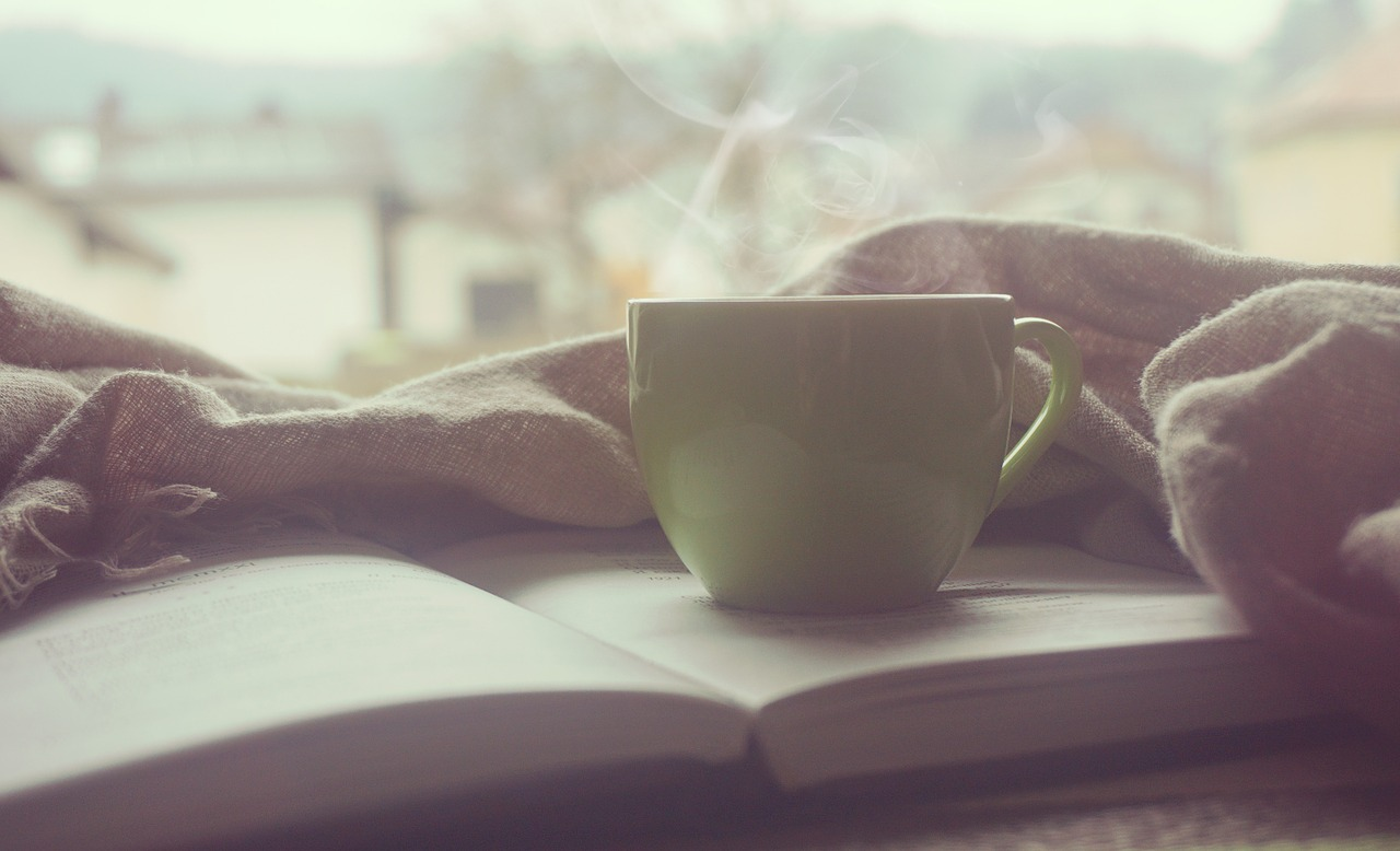 hyggelig stemning med kaffe