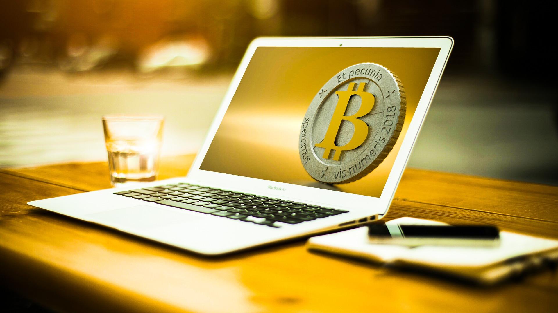 Computer med bitcoin