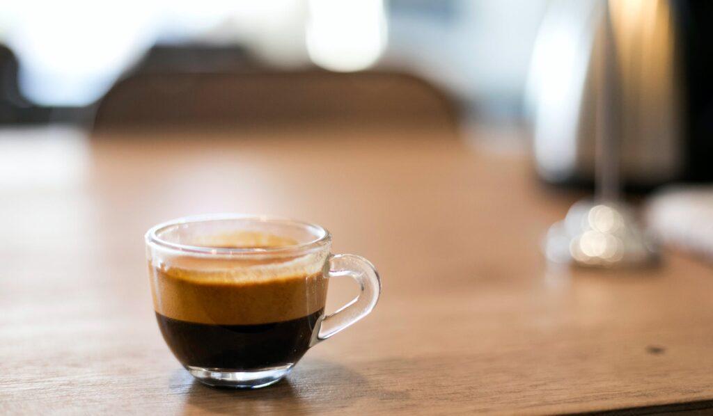 cappuccino på bord