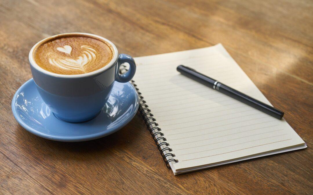 Planlæg dine opsparingsmetoder over en god kop kaffe
