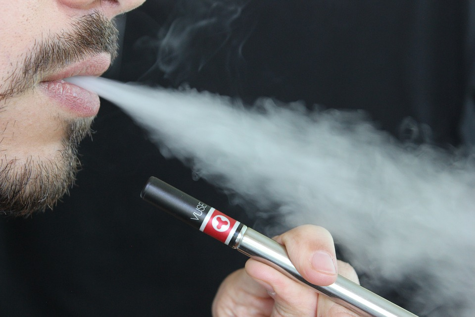 E-cigaret og røg