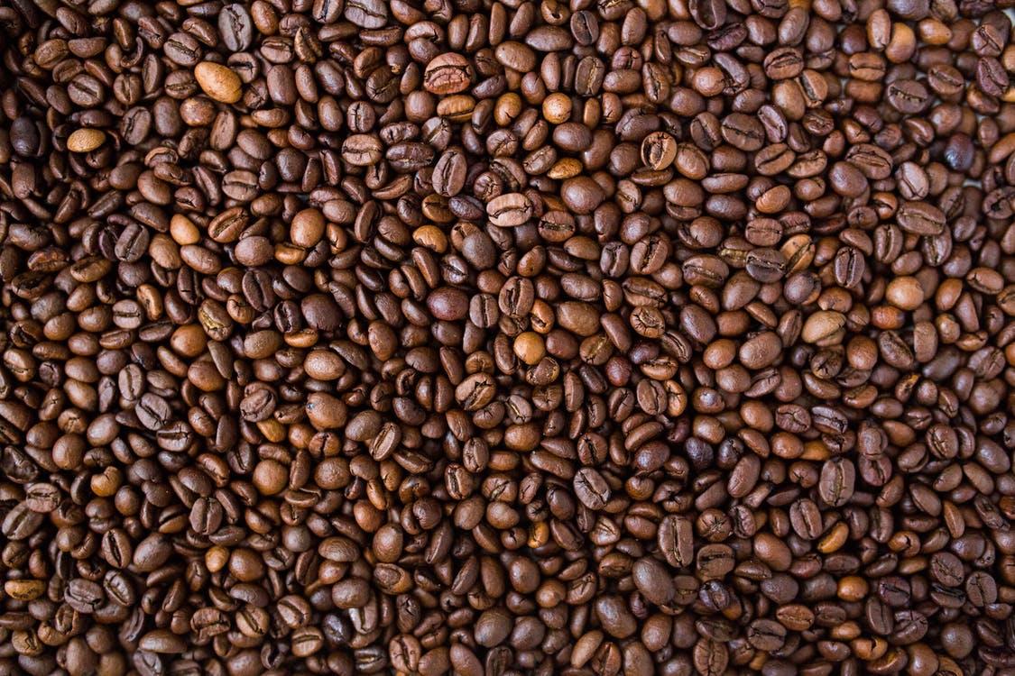mange kaffebønner
