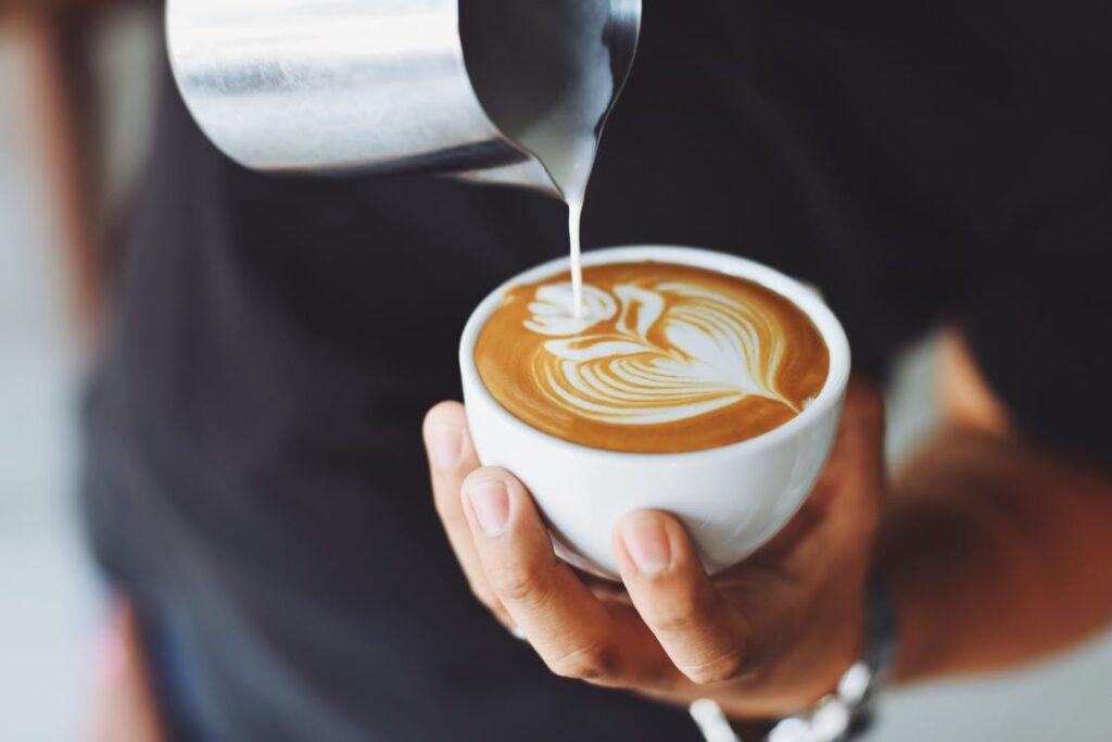 Kaffe i kop